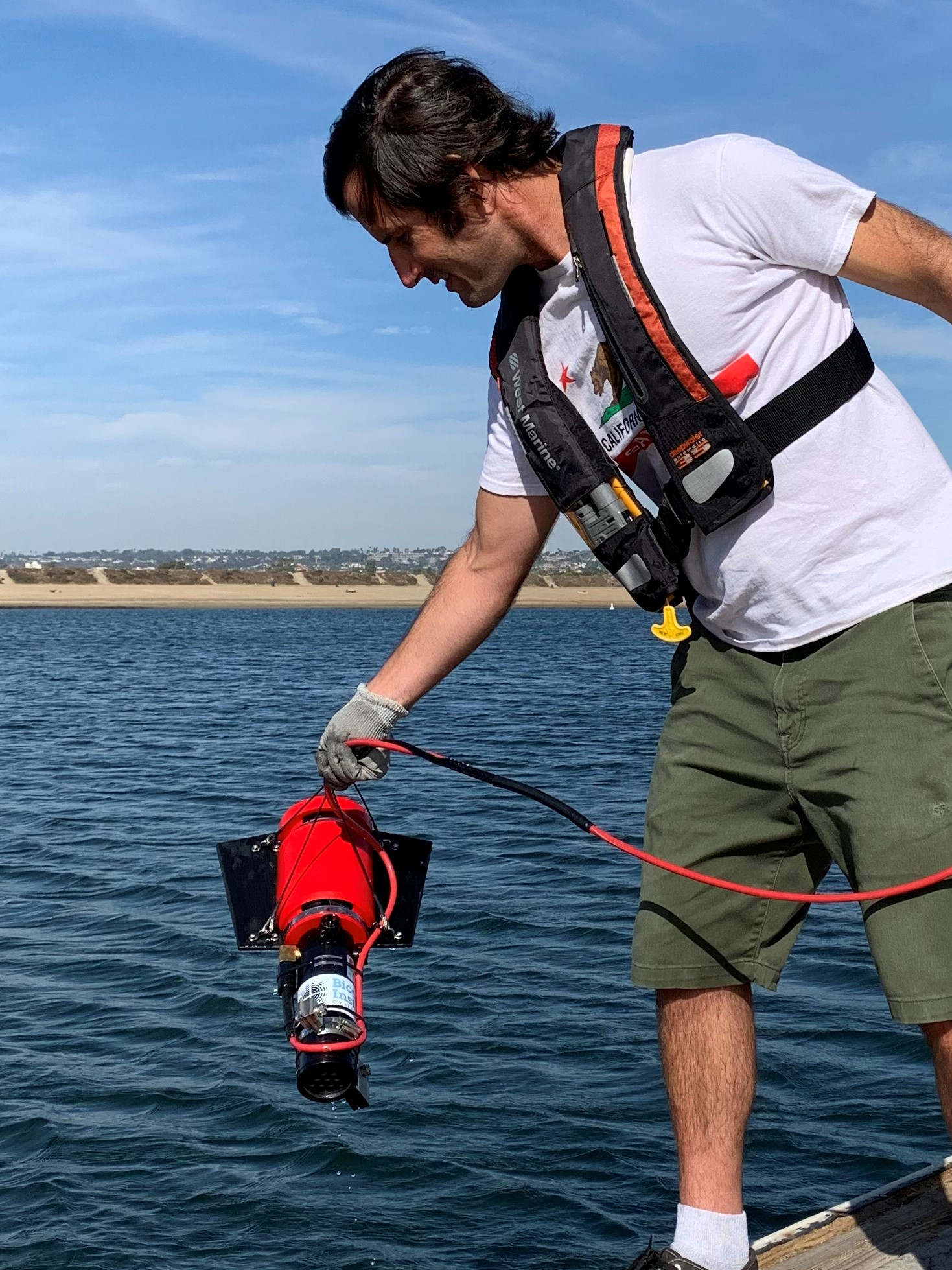 XRL being deployed in Mission Bay, CA