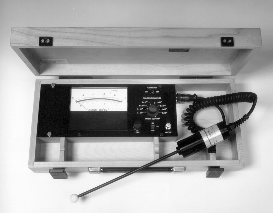 One of the first and most popular Biospherical instruments - The QSL-100