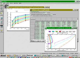 PROFILER software screenshot
